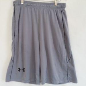 Under Armour Gray Sport Shorts Men's M